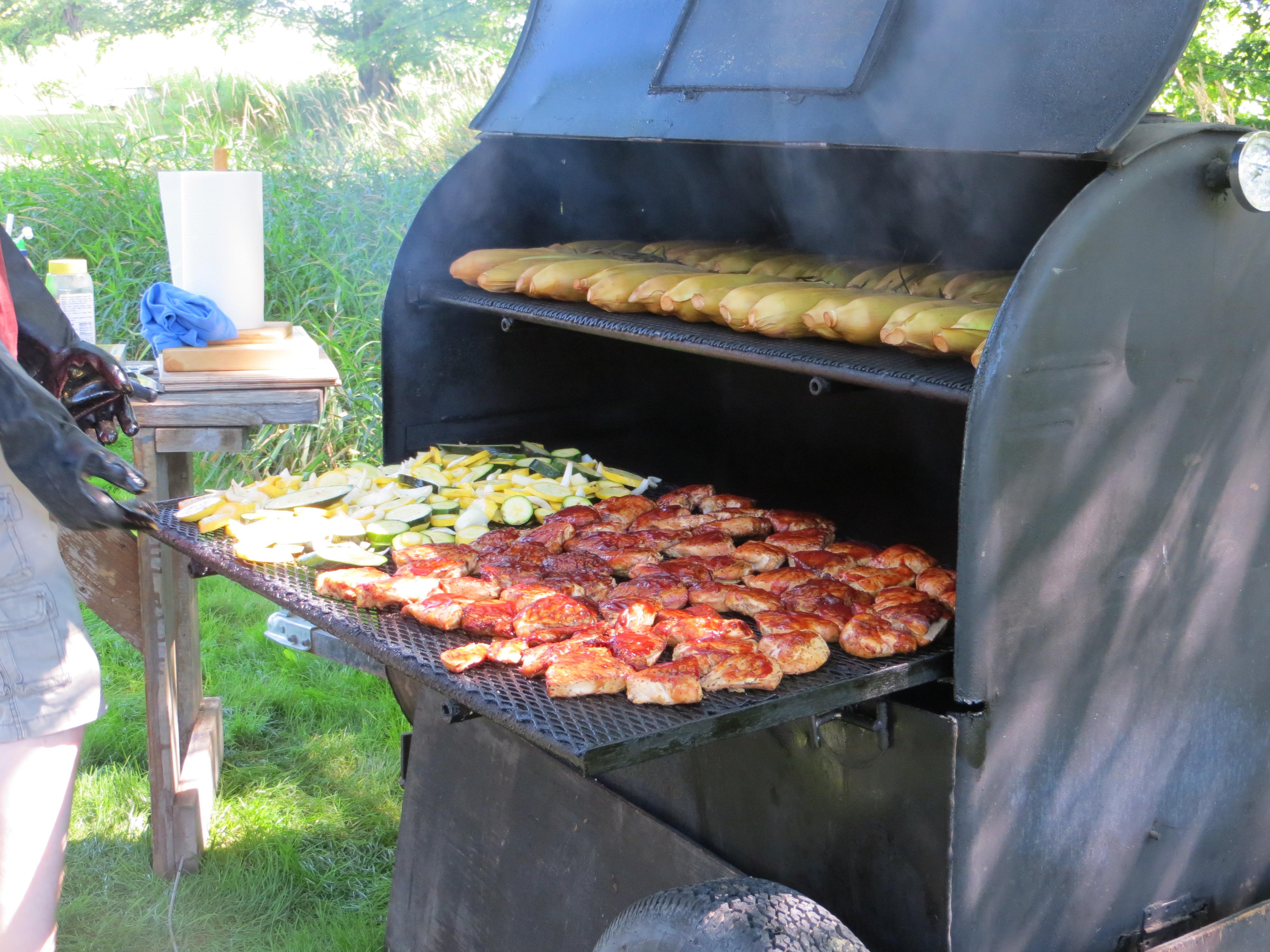 barbecue at the Church Picnic