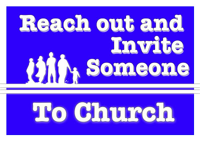 Reach Out and Invite Someone to Church